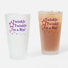 Twinkle Twinkle I'm a Star Drinking Glass