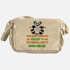 Crazy Friends Messenger Bag