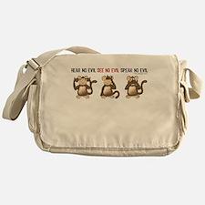 Hear No Evil... Messenger Bag