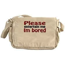I'm Bored Messenger Bag