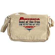 America Land of the Free... Messenger Bag