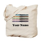 Flute Canvas Totes