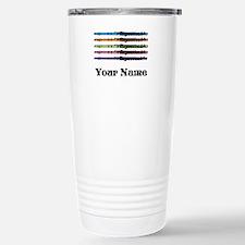 Personalized Flute Music Travel Mug