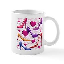 I Love Shoes Small Mug