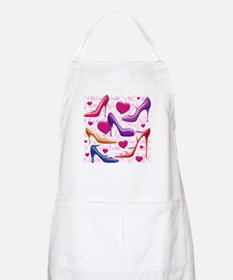 I Love Shoes Apron