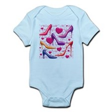 I Love Shoes Infant Bodysuit