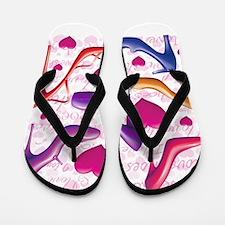 I Love Shoes Flip Flops