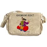 Adrenaline Addict Messenger Bag