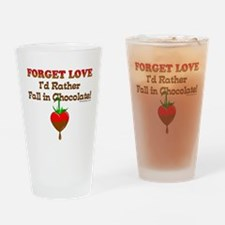 Chocolate Lovers Drinking Glass
