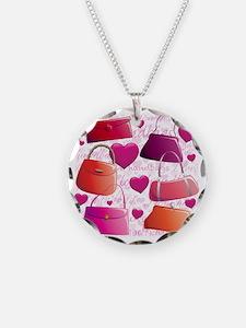 I love Handbags Necklace