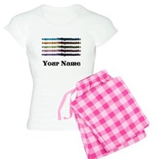 Personalized Flute Music Women's Light Pajamas