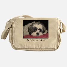 Cute Shih Tzu Dog Messenger Bag
