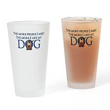 I Like My Dog Drinking Glass