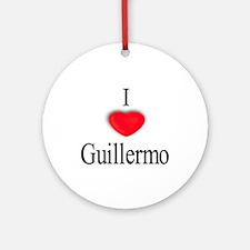 Guillermo Ornament (Round)