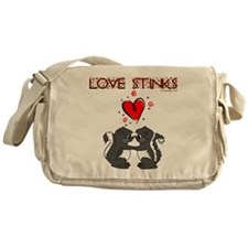 Love Stinks Messenger Bag
