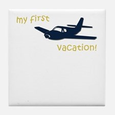 Cute First vacation Tile Coaster