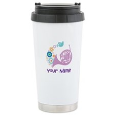 Personalized French Horn Travel Mug