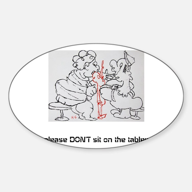 Cute Social manners Decal