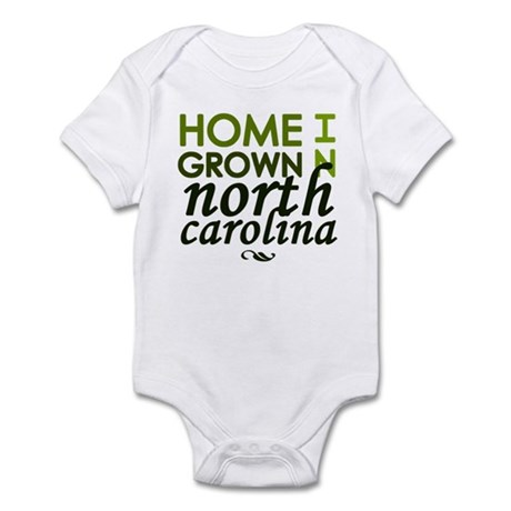 'North Carolina' Infant Bodysuit