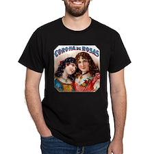Corona de Rosas Cigar Label T-Shirt