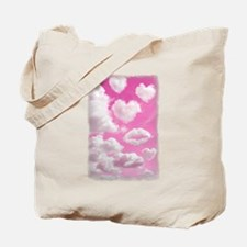 Heart Clouds Tote Bag