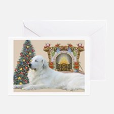 Great Pyrenees Christmas (pk Of 20) Greeting Cards