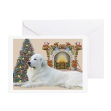 Great Pyrenees Christmas Greeting Cards