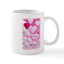 Heart Clouds and Balloon Mug