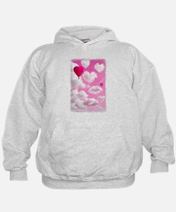 Heart Clouds and Balloon Hoodie