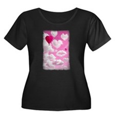 Heart Clouds and Balloon T
