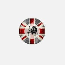 Union Jack and Bulldog Mini Button