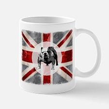 Union Jack and Bulldog Mug