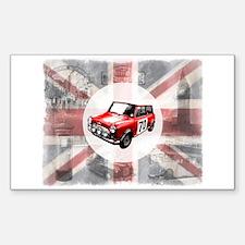 Union Jack, Mini and London I Decal