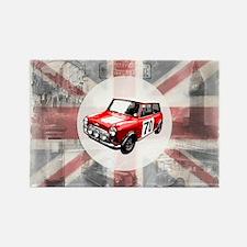 Union Jack, Mini and London I Rectangle Magnet