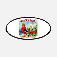 Golden Pheasants Cigar Label Patches