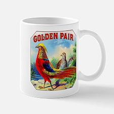 Golden Pheasants Cigar Label Mug