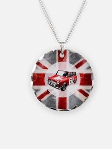 Union Jack and Mini Necklace Circle Charm