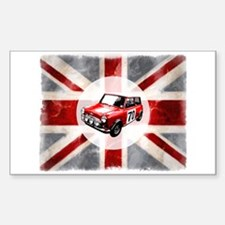 Union Jack and Mini Decal