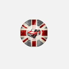 Union Jack and Mini Mini Button