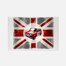 Union Jack and Mini Rectangle Magnet (10 pack)