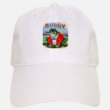 Bully Bullfrog Cigar Label Baseball Baseball Cap
