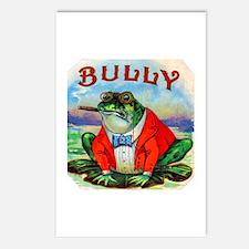 Bully Bullfrog Cigar Label Postcards (Package of 8