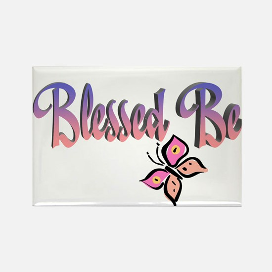 Blessed Be Rectangle Magnet