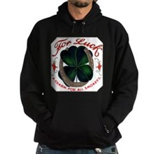For Luck Cigar Label Hoodie