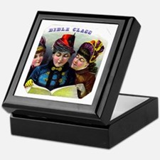 Bible Class Cigar Label Keepsake Box