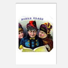 Bible Class Cigar Label Postcards (Package of 8)