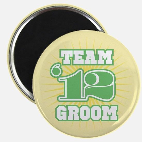 Sage Emblem Star Groom 12 Magnet