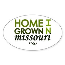 'Home Grown In Missouri' Decal