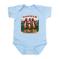 Gophers Cigar Label Infant Bodysuit