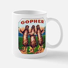 Gophers Cigar Label Mug